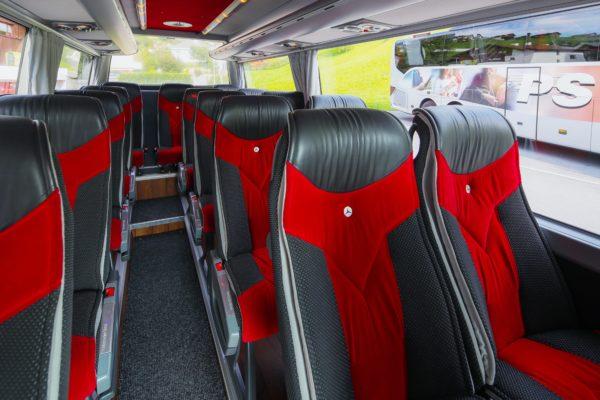 Busreisen Philipp Schaedler Anstalt, aufgenommen am Dienstag, 18. September 2018, in Triesenberg. Foto & Copyright: Eddy Risch.